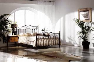 Cama forja rustica, dormitorio rustico forja, camas de forja