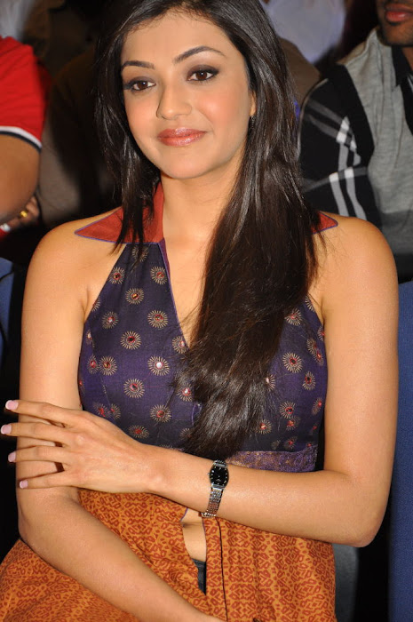 kajal agarwal at businessman platinum disc event, kajal new cute stills