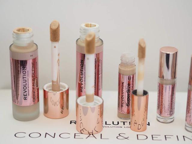 Revolution Conceal & Define Full Coverage Foundation  + Concealer