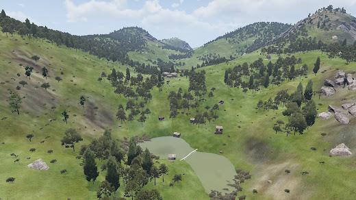 Arma3用のいろいろな環境があるDeniland マップ MOD
