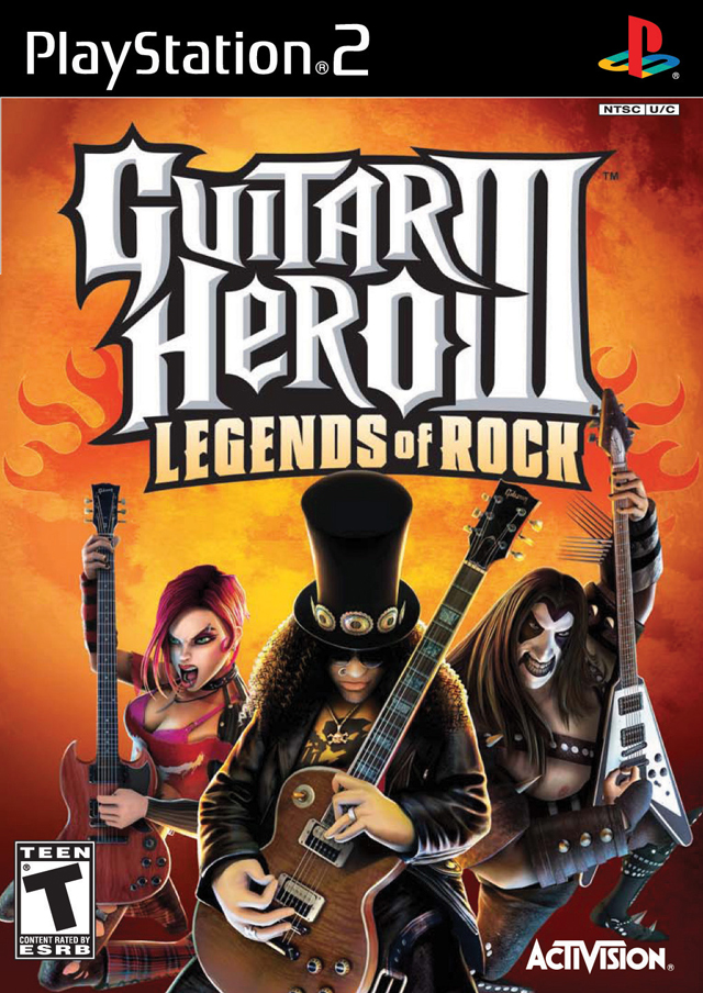 Guitar Hero III Legends Of Rock Playstation 2 - Guitar Hero 3 Legends Of Rock (PS2) (NTSC)