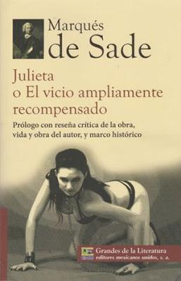 Reseña: Juliette y el vicio ampliamente recompensado- Marqués de Sade