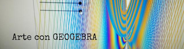 geogebra y matemáticas. Creamos arte con funciones y deslizadores
