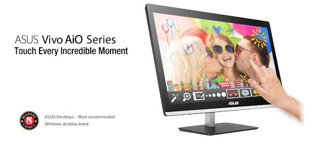 Teknologi Serba Cepat Intel Core i5 di perangkat ASUS PC All in One Vivo V220IC