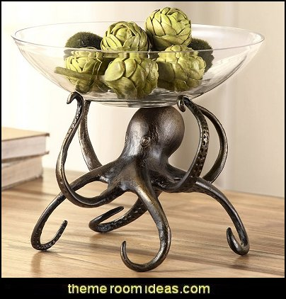 Octopus+Fruit+Bowl  kitchen accessories - fun kitchen decor - decorative themed kitchen  - novelty mugs - kitchen wall decals - kitchen wall quotes - cool stuff to buy - kitchen cupboard contact paper -  kitchen storage ideas - unique kitchen gadgets - food pillows