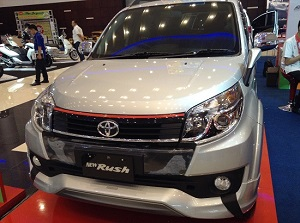 all new rush trd sportivo warna silver 2016