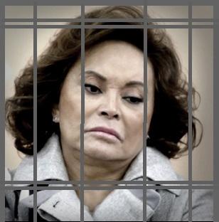 Elba Esther Gordillo tras las rejas