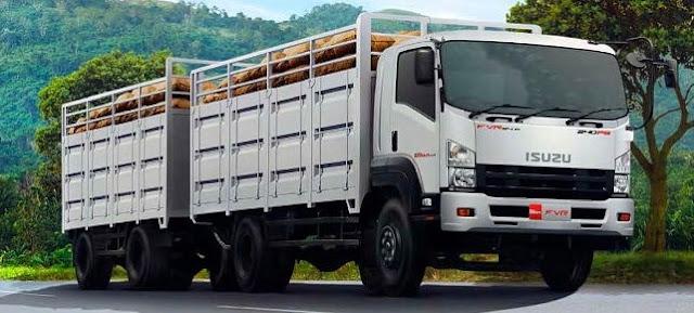 gambar truk panjang gandeng di indonesia