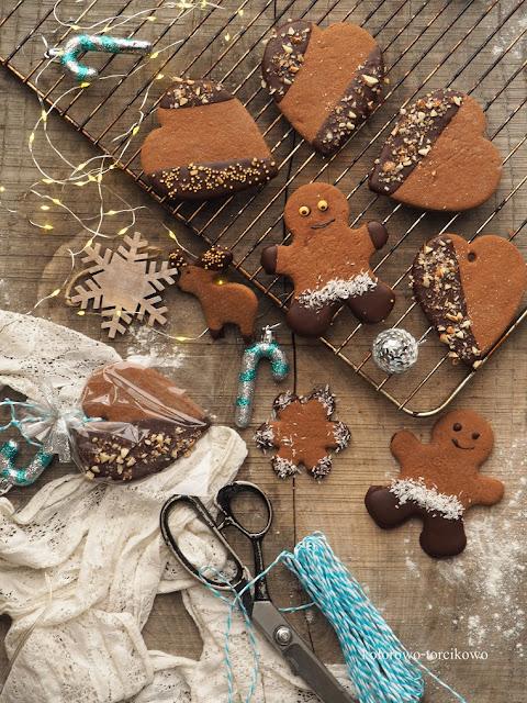 zdrowe świąteczne pierniczki