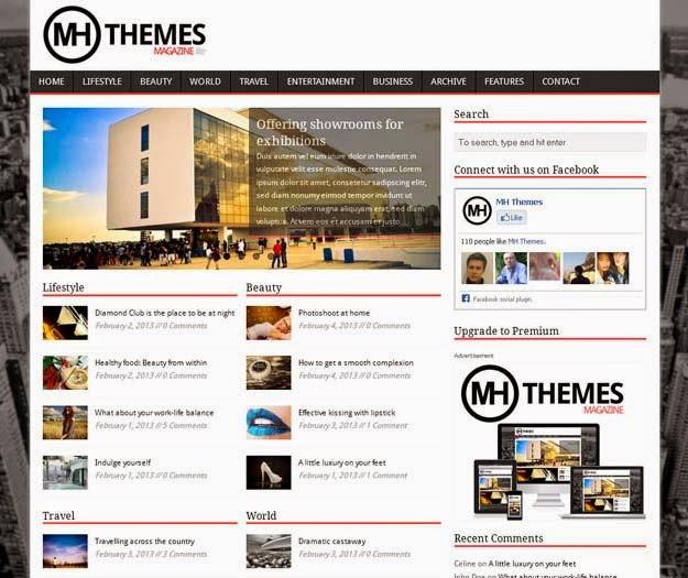 MH Magazine lite – Free WordPress Theme