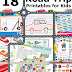 18 Road Trip Printables for Traveling with Kids