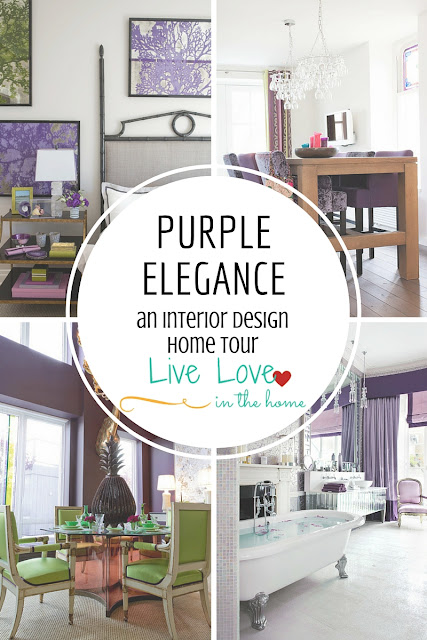 Elegant Modern Contemporary Urban Purple Interior Design Home Decor Ideas Inspiration Tips and Tricks by Live Love in the Home