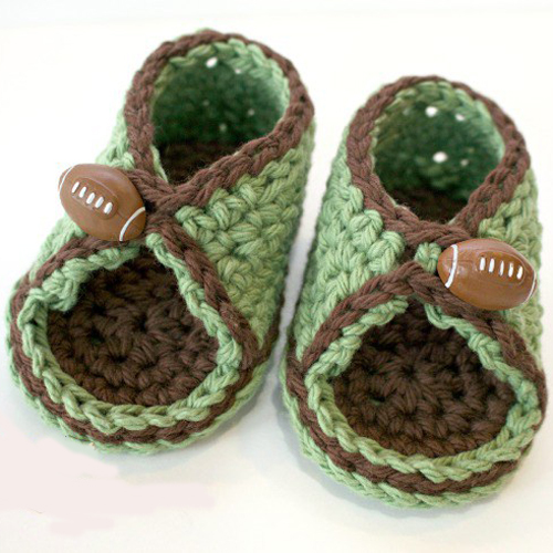 Free Crochet Pattern for Peek-A-Boo Sandals