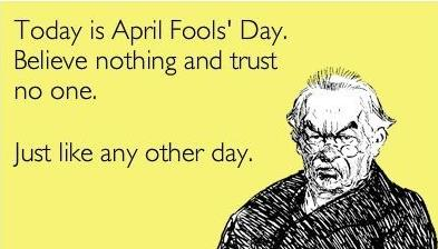 1st April fool Quotes of the day