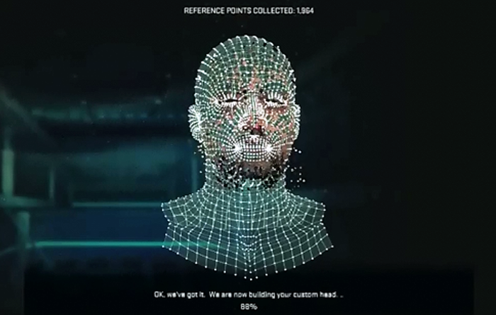 NBA 2K15 - Player Face Scan
