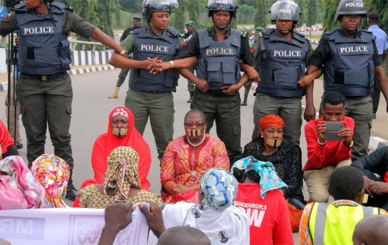 """BBOG shouldn't protest in Aso Rock, Buhari didn't kidnap Chibok girls"""