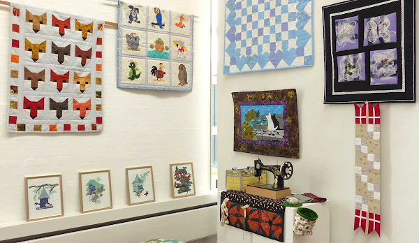 Patchwork - Exhibition at Gudhjem Museum