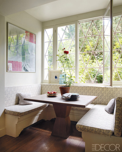 Small Kitchen Banquette Dimensions