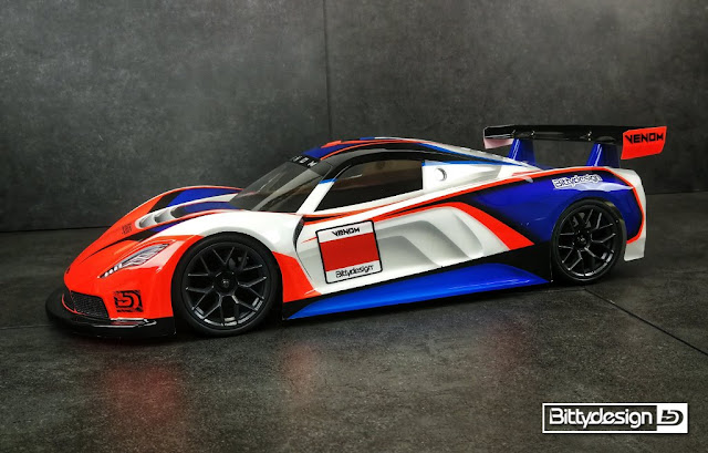 Bittydesign Venon GT 190mm
