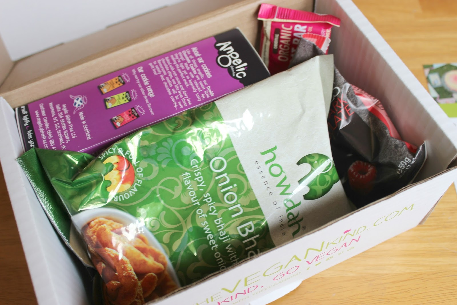 A picture of the October The Vegan Kind Box