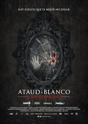 Ataúd Blanco: El Juego Diabólico 2016 DVD Custom NTSC Latino