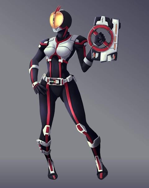 Kamen Rider Faiz (Fanart)