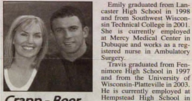 22 funny wedding announcement name combos on newspapers in