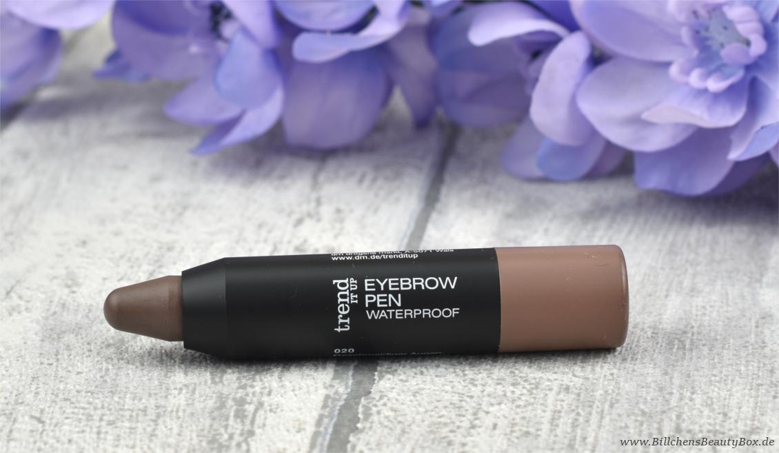 trend IT UP - neues Sortiment Frühling und Sommer 2017 -  Eyebrow Pen Waterproof