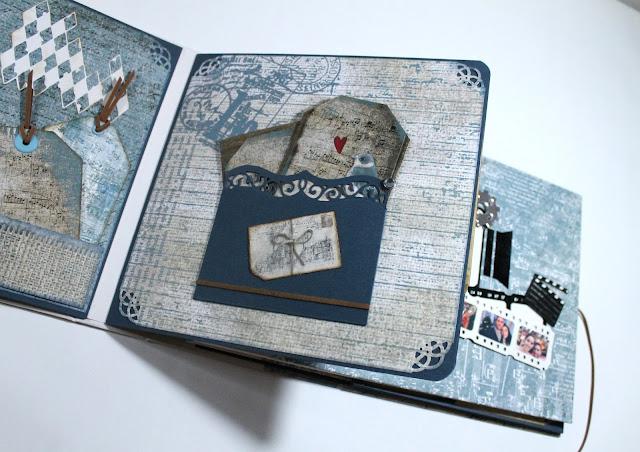 Libro de firmas Ann Friks. Scrapbook