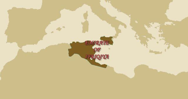 Aghlabid Emirate of Ifriqiya on the Map