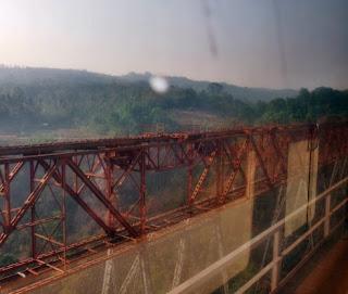 Jembatan Cikubang dari atas Kereta Argo Parahyangan