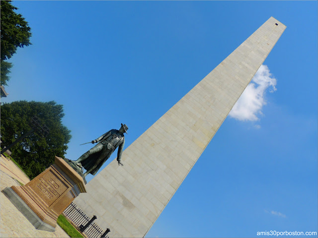 Monumento de Bunker Hill en Charlestown, Boston