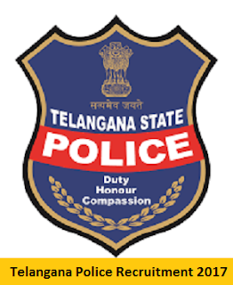 Telangana Police Recruitment Notification 2017