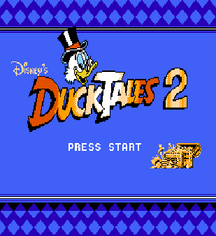 【FC】唐老鴨夢冒險2(DuckTales 2)原版+無敵模式,迪士尼動漫改編遊戲!