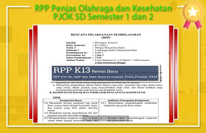RPP Penjas Semester 2