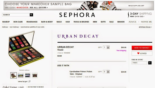 Update: Hourglass Blush Palette & Urban Decay Vice 3 (Limited Edition for Sephora) ~ Maria Lira Makeup