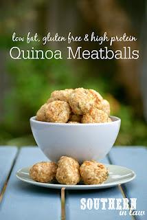 Healthy Quinoa Baked Meatballs Recipe Gluten Free