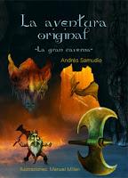 """Portada del libro """"La aventura original: La gran caverna"""", de Andrés Samudio"""