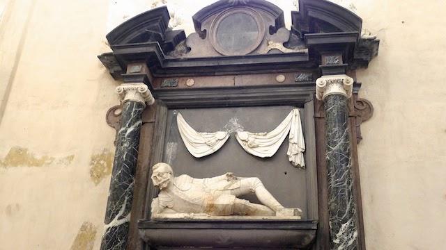 Petro Veselovskio antkapis Bernardinų bažnyčioje