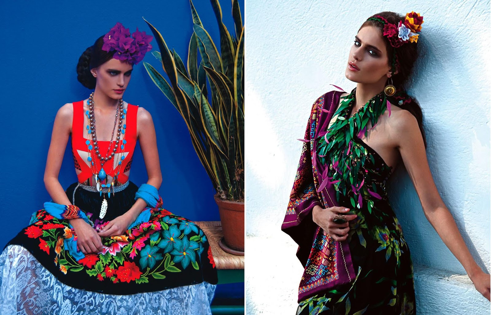 3f1d378216b How Mexican Ethnic Embroidery Clothes and Silver Jewelry Has Taken the High  Fashion World in Recent Years