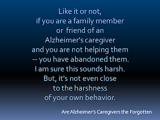 Alzheimer's Care Have You Been Abandoned?
