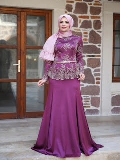 model baju batik pesta untuk wanita