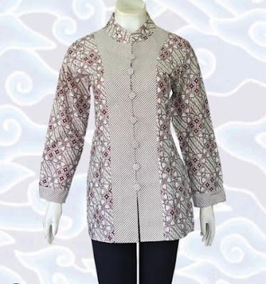 contoh model baju batik wanita remaja