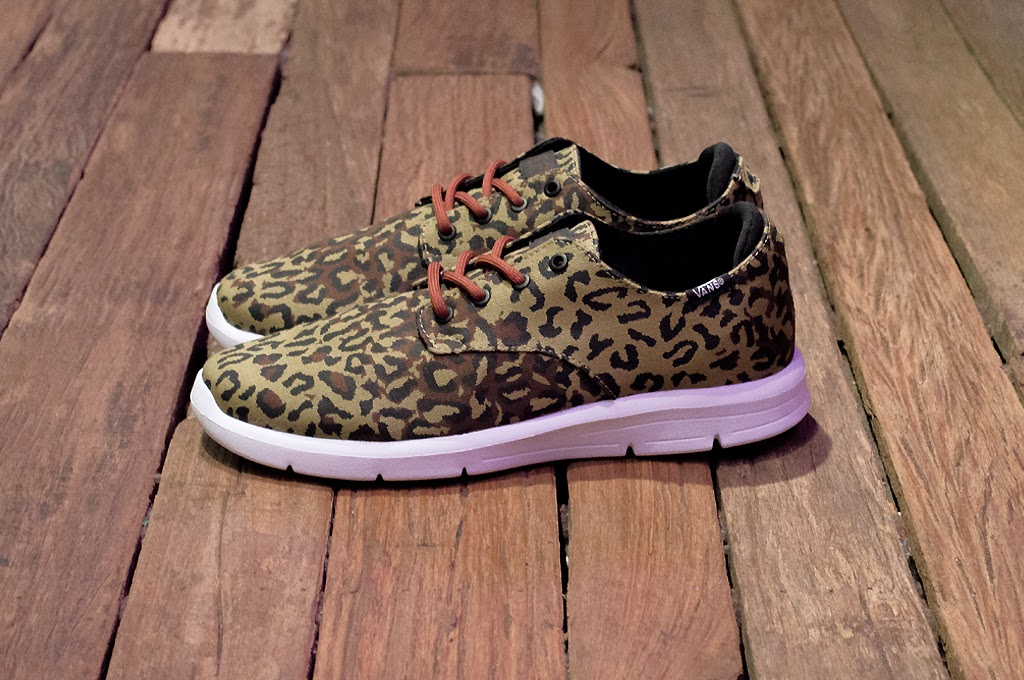 """57757bb0abb04 Vans OTW presents the Prelow shoe executed in """"Leopard Camo"""". This range  finds the minimalist"""