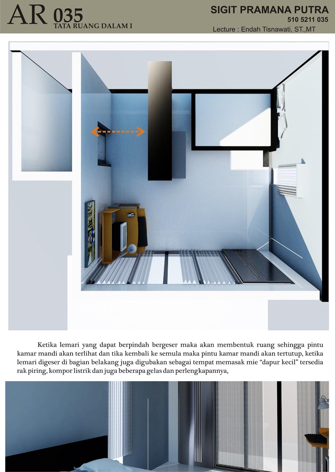 Jungearchitektstudio Desain Multifungsi Kamar Tidur Mahasiswa