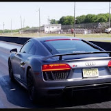 Dodge Demon vs. Audi R8 V10 Plus Drag Race is an Obliteration Manual
