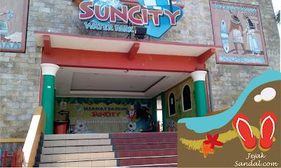 pintu masuk waterpark suncity sidoarjo
