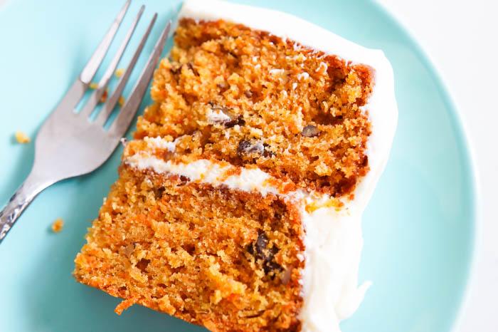 favorite carrot cake for Easter ♥ bakeat350.net