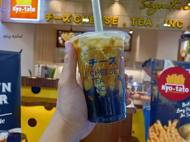 Signature Cheese Tea Inc: Edisi Tanpa Kentang - Part 2 (Matcha)