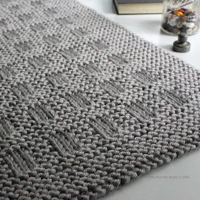 Fifty Four Ten Studio: Westport Blanket - Quick & easy knitting pattern!